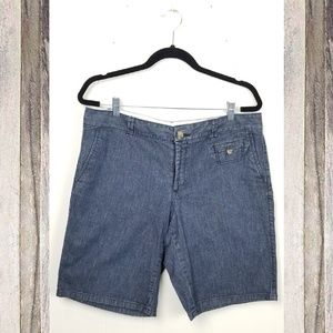 DOCKERS Denim Cotton Walking Shorts